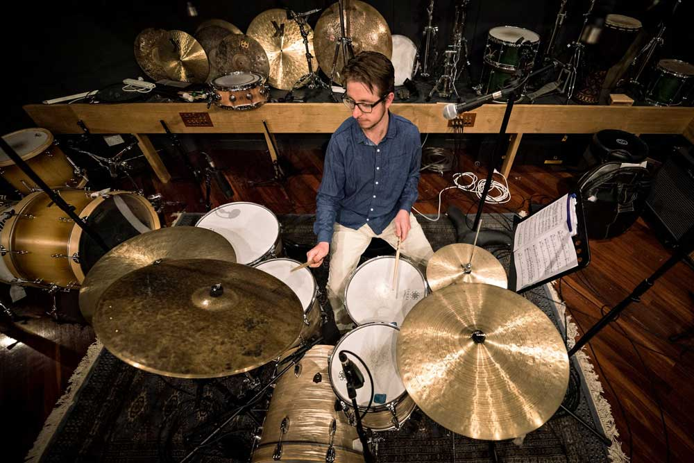 Aaron McCoullough Wangaratta Festival of Jazz & Blues