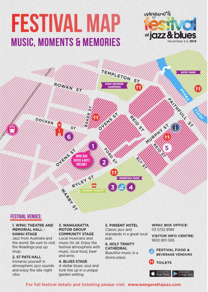 Festival Map 2018