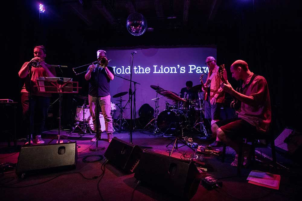 I Hold the Lions Paw Wangaratta Festival of Jazz and Blues