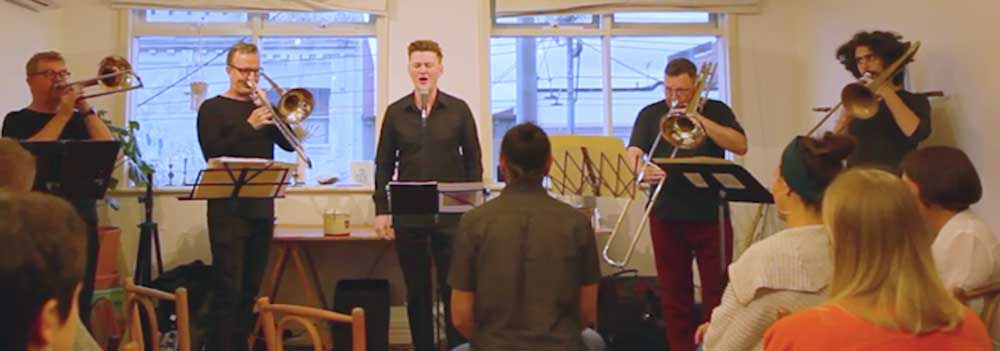 Josh Kyle Trombone Song Cycle Wangaratta Festival of Jazz & Blues