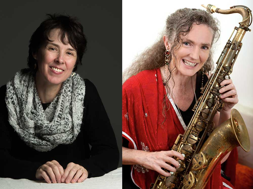Sandy Evans and Andrea Keller Wangaratta Festival of Jazz and Blues