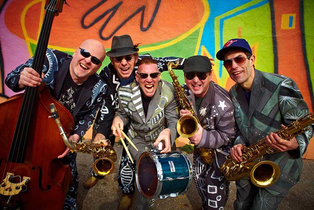 Shuffle Demons Wangaratta Festival of Jazz & Blues