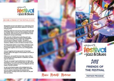Friends of the Festival brochure